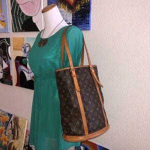 Authentic LV GM Bucket Handbag